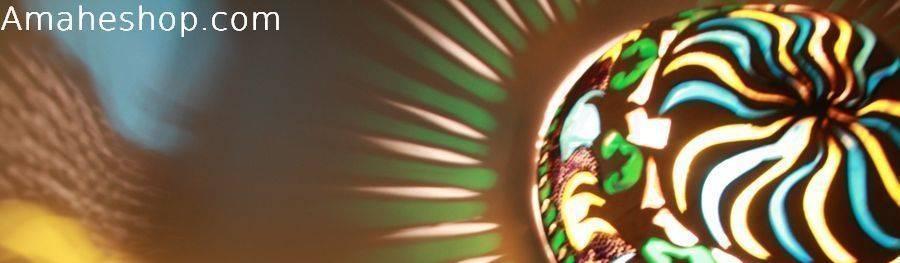 Amahe Luminaires Artistiques en Calebasse  (luminaire therapeutique)