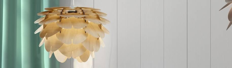 Etna  Lamp made of ultra thin birch plywood, profesjonalista