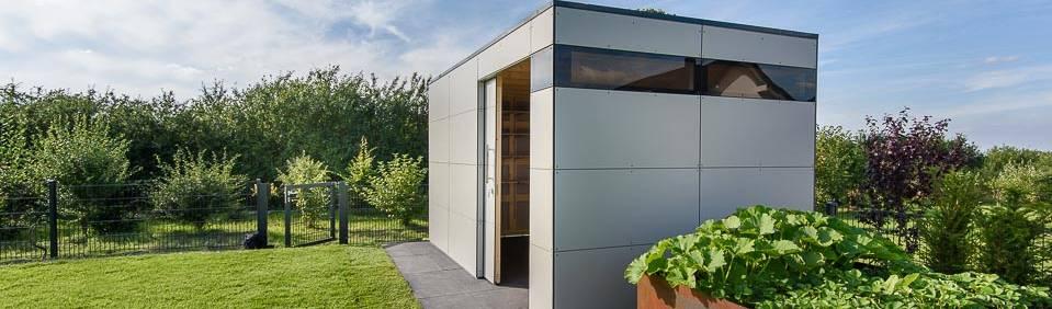 design@garten—Alfred Hart— Design Gartenhaus und Balkonschraenke aus Augsburg