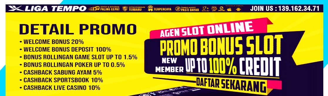 Situs Judi Slot Promo Bonus Terbaru dan Terpercaya LIGATEMPO
