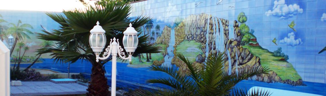 Gestos Nativos—azulejos