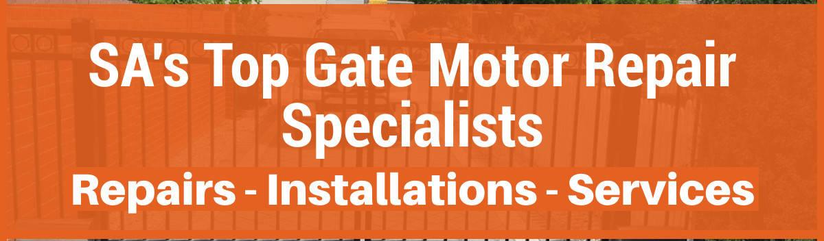 Fast Gate Motor Repairs Durban