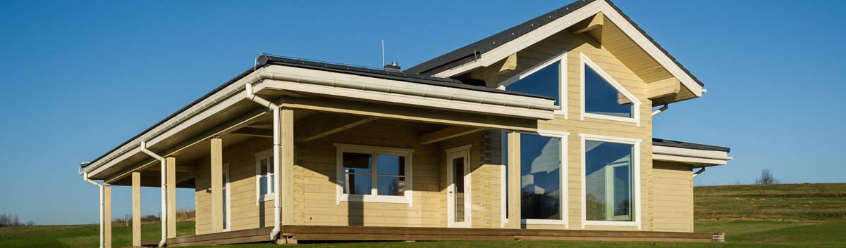 Moderner Holzhaus Bausatz Kubu Von Thule Blockhaus Gmbh Ihr