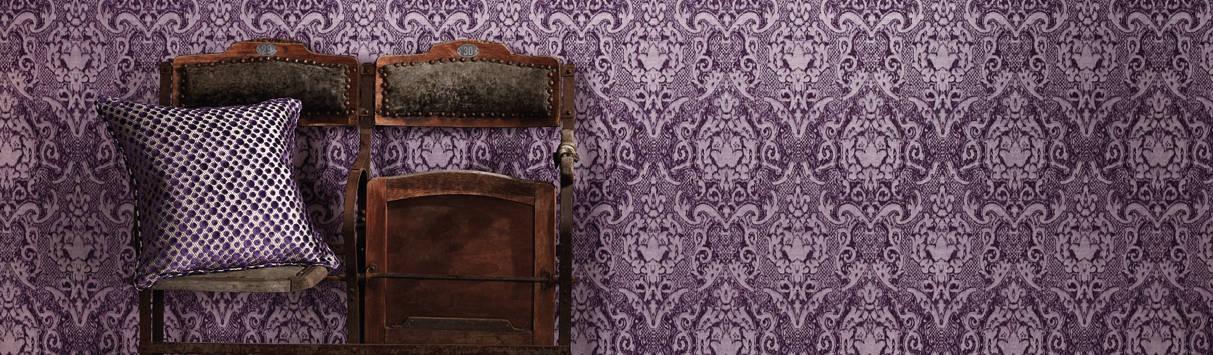 tapeten im metallic look von homify. Black Bedroom Furniture Sets. Home Design Ideas