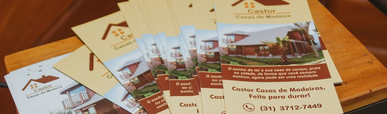 Castor Casa de Madeira Pre fabricada em Belo Horizonte MG