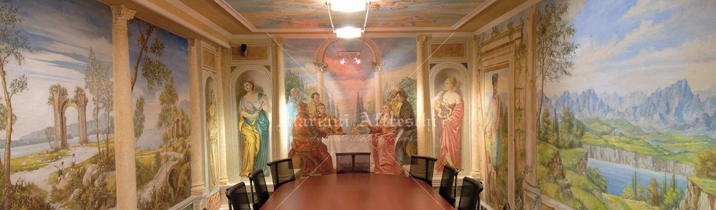 Mariani affreschi decoratori d 39 interni a brescia homify - Decoratori d interni ...
