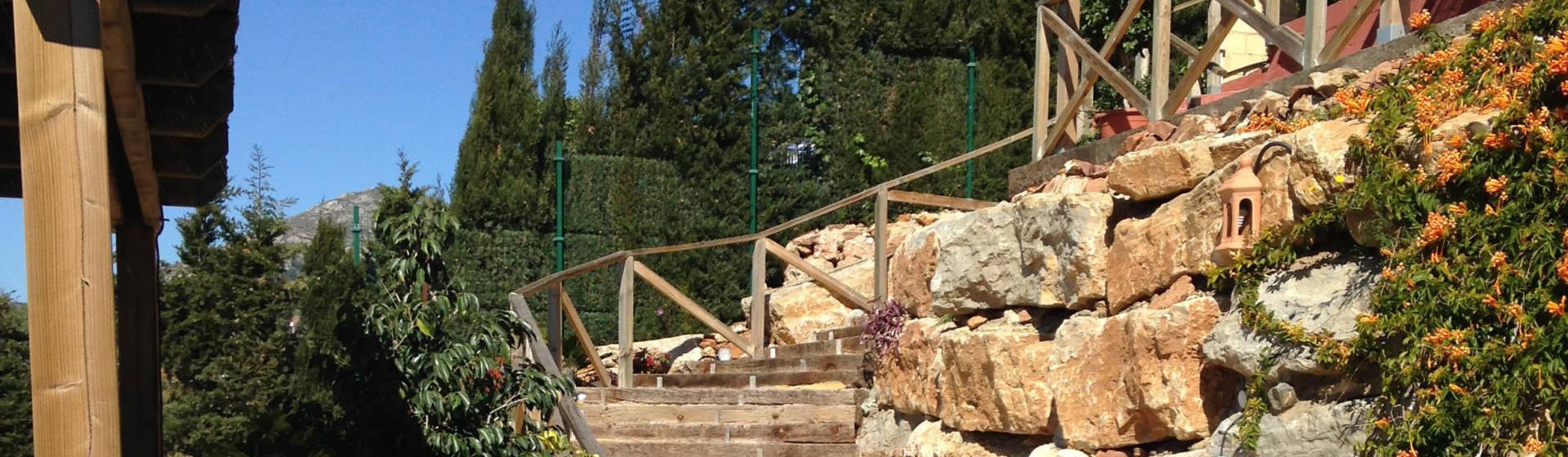 vallados y jardines vallas de madera homify