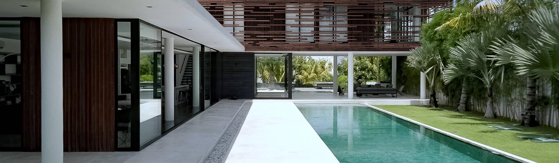 Maisons et villas modernes par les architectes d 39 a2 sb par for Belles villas modernes
