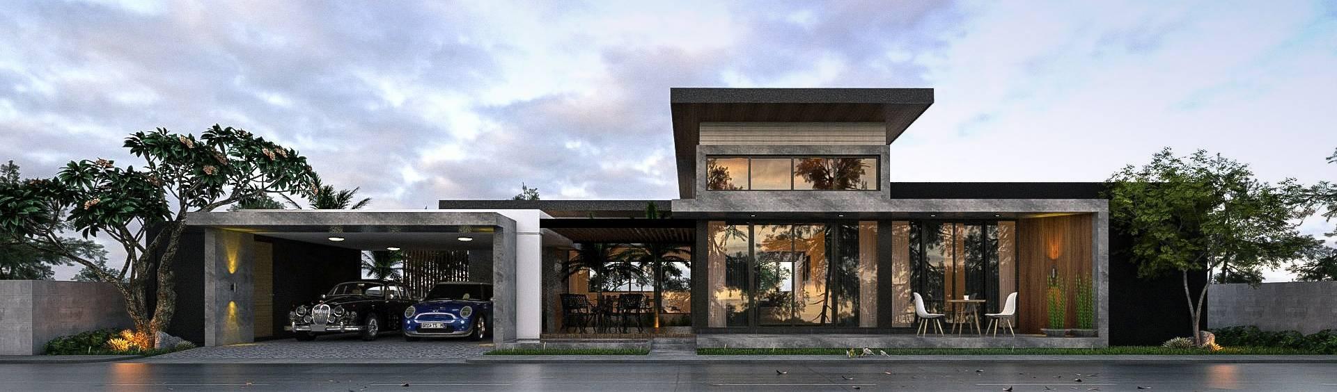 Ultimate Architect รับออกแบบบ้าน