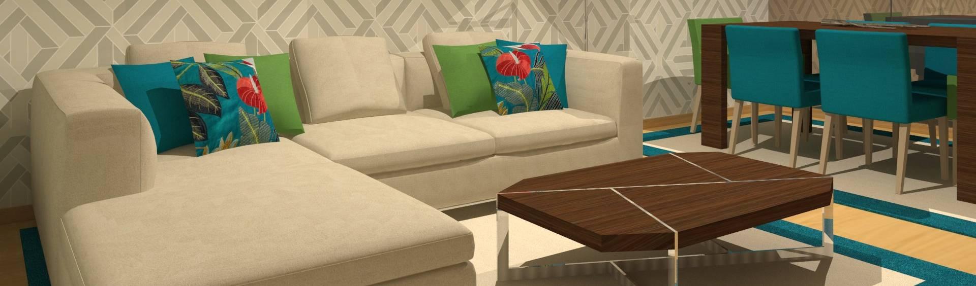 Veludo Vermelho Design de Interiores