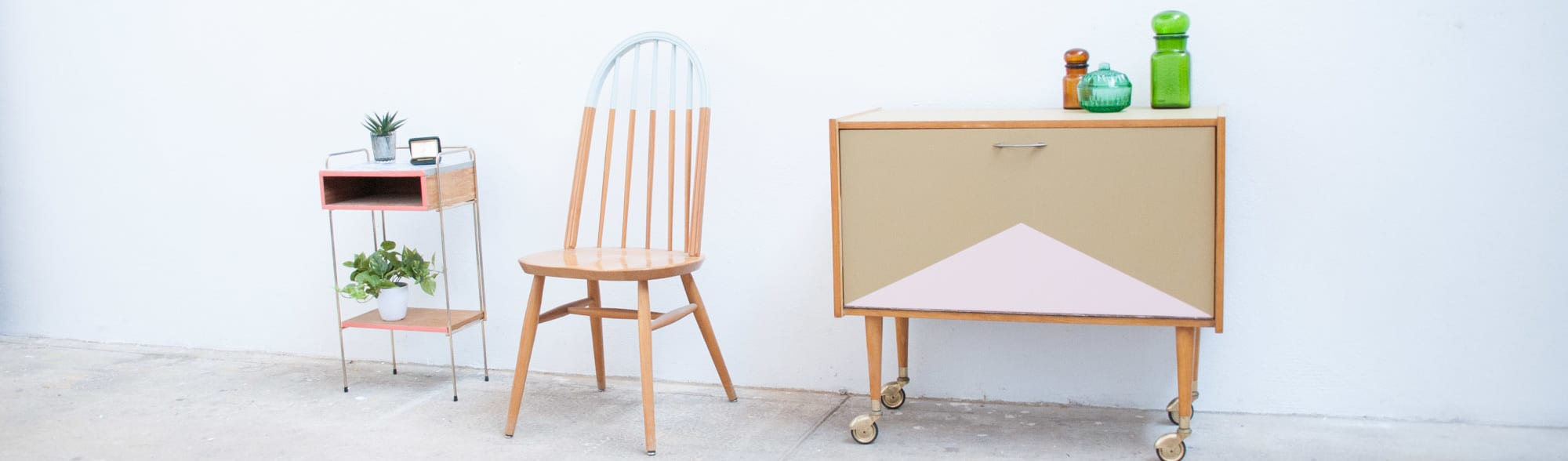 Rénovation de plusieurs meubles vintage par La Chouette Echoppe | homify