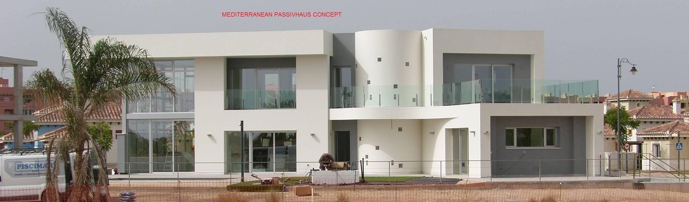 Arquitectura Mediterránea. Mediterranean Passivhaus Concept. 653773806 .
