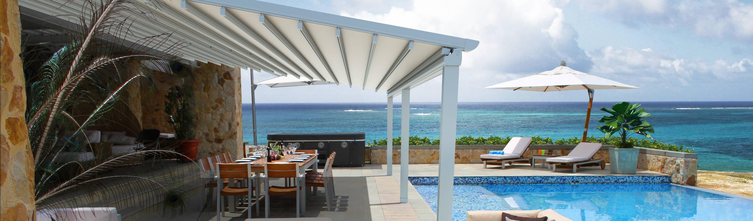 Parasoles Tropicales—Arquitectura Exterior
