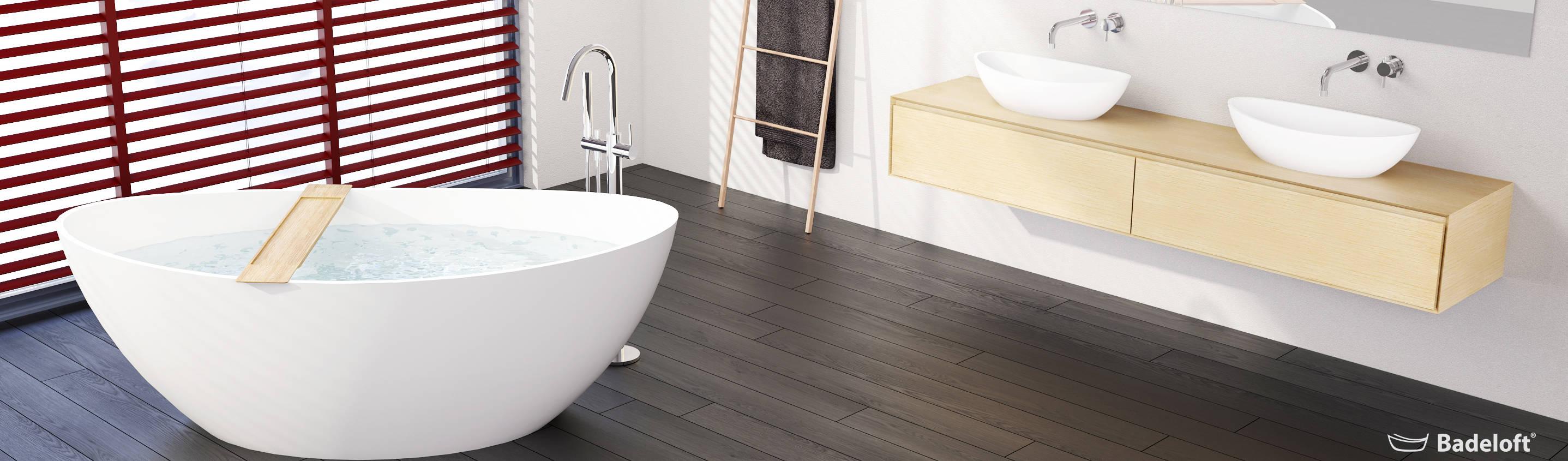 Badeloft – Badewannen und Waschbecken aus Mineralguss und Marmor