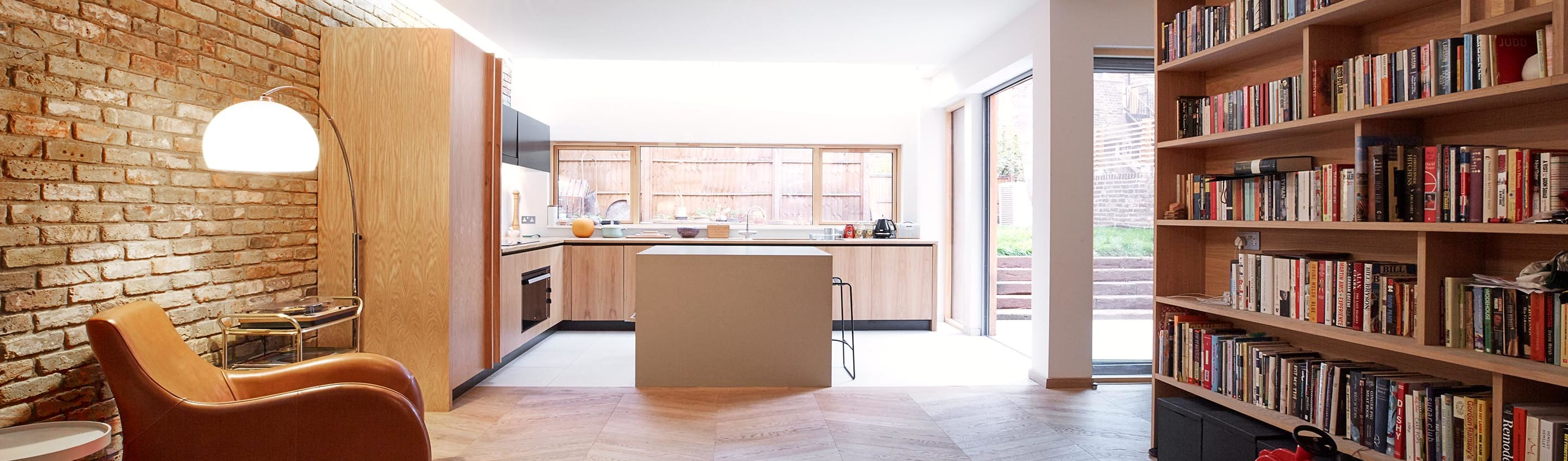 Courtyard House East Dulwich By Designcubed Homify # Muebles Cocina Die Kuche