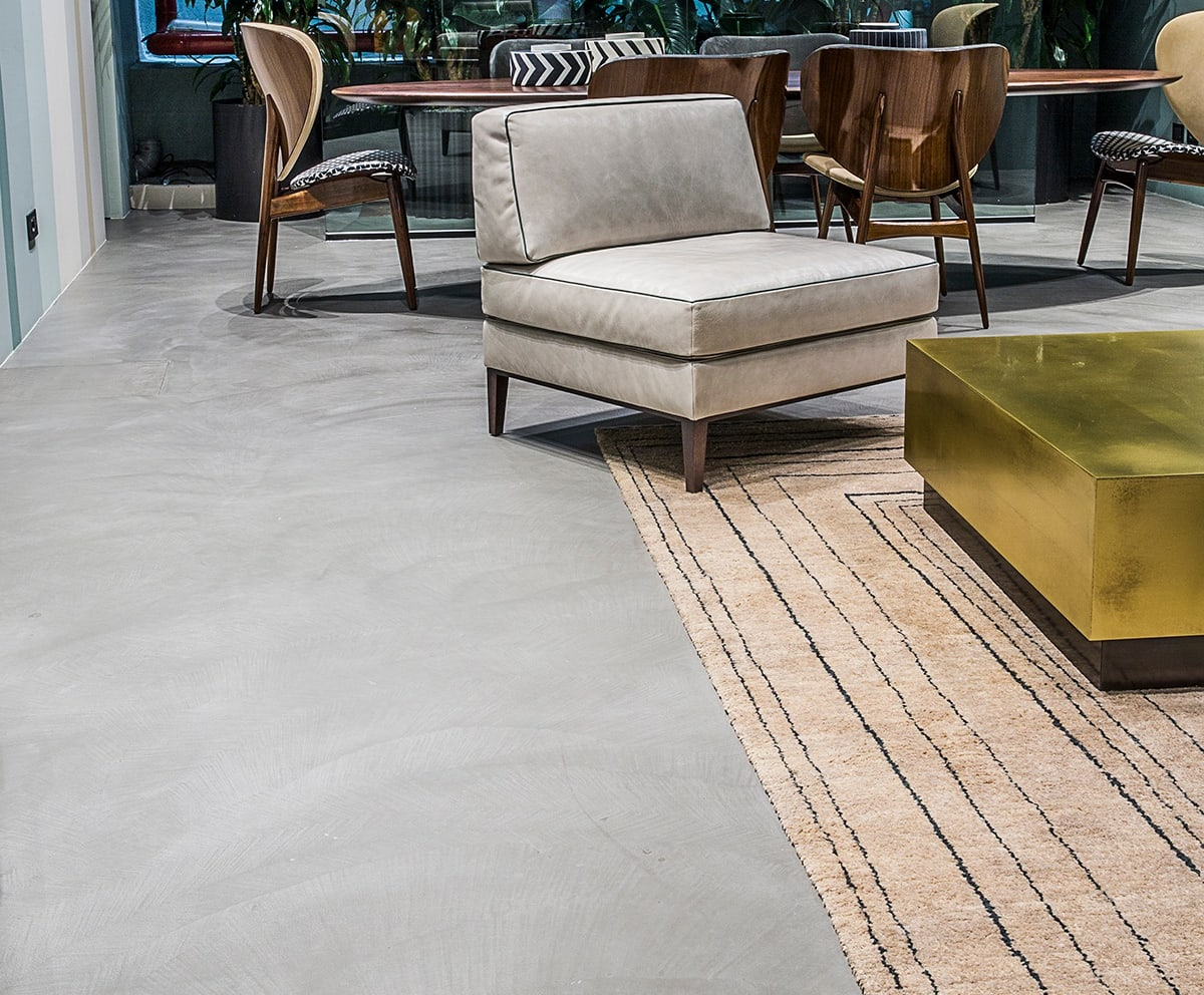 W Ultra Podłoga z betonu w domu, profesjonalista: HD Surface   homify DR73