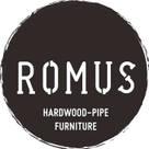 ROMUS 하드우드 파이프 가구 로머스