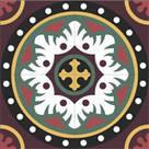 Karosiman Desenli Yer Karoları