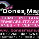 BONES MANS PROFESSIONAL,S.L.