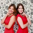 Caroline Argenta e Elisangela Chioca