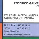 ESTUDIO DE ARQUITECTURA FEDERICO GALVAN