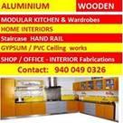 BANGALORE ALUMINIUM Kitchens & Home INTERORS