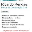 Ricardo Rendas – Pintor de Construção Civil