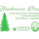 JARDINERIA ORIA S.L.
