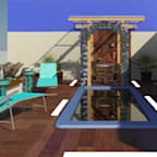 TAFS interiores e 3D