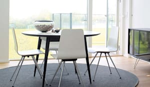 modern Dining room by Wharfside Furniture