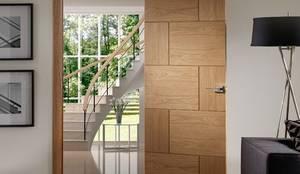 Projekty, nowoczesne Okna i drzwi zaprojektowane przez Modern Doors Ltd