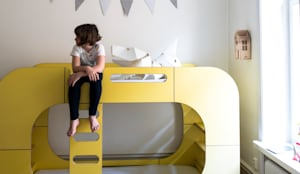IO Bunk Pod Bunk Bed: modern Nursery/kid's room by E-Side