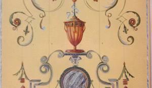 Armadio decorato a grottesche di decorazioni artistiche - Decorazioni grottesche ...
