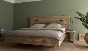 Chambre de style de style Rustique par timberclassics - Bauholzmöbel - markant, edel, individuell