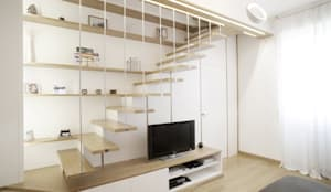 moderner Flur, Diele & Treppenhaus von PAZdesign