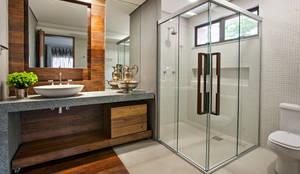 Projekty,  Gospodarstwo domowe zaprojektowane przez Gislene Lopes Arquitetura e Design de Interiores