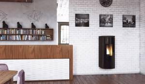 Decorazioni interior design idee per il bagno e la cucina homify - Quale stufa a pellet scegliere ...
