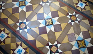 Tiles:  Walls & flooring by The Vintage Floor Tile Company
