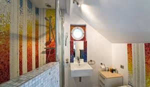 modern Bathroom by Art Mosaico