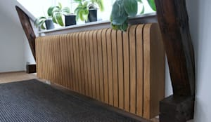 Oak Radiator Cover:  Household by Cool Radiators? It's Covered!
