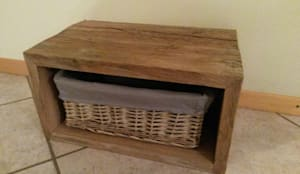 urige rustikale betten aus altem eichenholz von bootssteg m bel homify. Black Bedroom Furniture Sets. Home Design Ideas