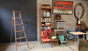 gu vintage shop furnitures and accessories: GU VINTAGE SHOP의  사무실 공간 & 가게,