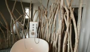Baños de estilo ecléctico por Tabary Le Lay