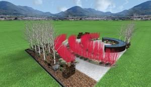 il giardino dei semplici...:  in stile  di LUCIA PANZETTA - PAESAGGISTA