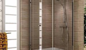 asur duş kabin sist – sur duşakabin: akdeniz tarzı tarz Banyo