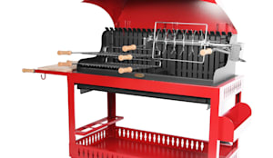 esprit barbecue barbecue etchalar rouge lemarquier homify. Black Bedroom Furniture Sets. Home Design Ideas