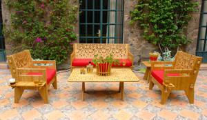 Balcones, porches y terrazas de estilo moderno por Wedgewood Furniture