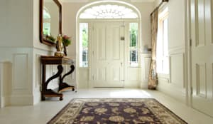 classic Corridor, hallway & stairs by CLAIRE HAMMOND INTERIORS
