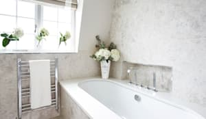 eclectic Bathroom by The Olive Design Studio
