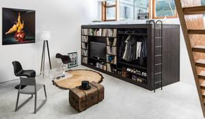 Living Cube Furnitureが手掛けたリビングルーム